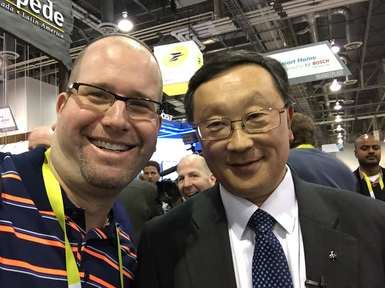 Blackberry CEO John S. Chen