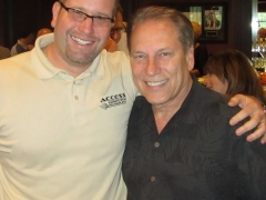 Coach Tom Izzo