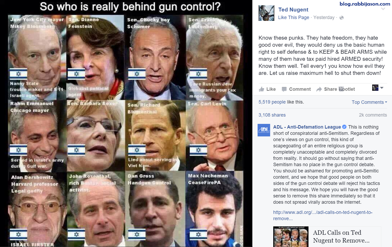 Ted-Nugent-Anti-Semitic-Facebook-Post-2016